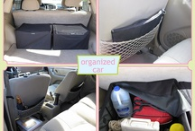 Organized Car / Organize you car. It's a big investment, keep it tidy.  / by Time For You ORGANIZING