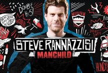 Steve Rannazzisi: MANCHILD / Steve Rannazzisi's hour special 'MANCHILD' premiered on 11/16/13 on Comedy Central and is now available for digital download