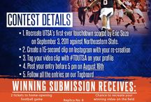 Instagram Video Contest / Information and submissions for the #UTSA Athletics Instagram Video Contest. #TDUTSA / by UTSA Athletics
