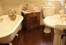 Bathrooms / The bathtub is my happy place.