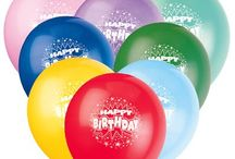 Birthday Balloons / Birthday Balloons - Foil balloons, Mylar Balloons and latex balloons( solid and printed) of best quality and at low prices.