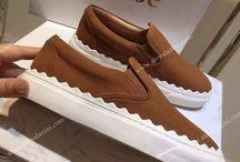 Обувь женская - слиперы / #женскаяобувь #слиперы #реплика #бренд