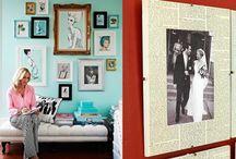 Стены с историей / Как декорировать интерьер фотографиями