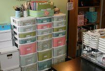 Craft room ideas and organization