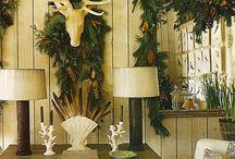Home for the Holidays / Festive Holiday decor, Christmas Decor, etc.