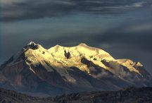 Bolivian mountains