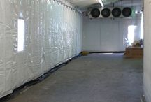 Produce Distributor | Insulated Warehouse Curtain Wall | Keeps Dock Cool / Randall's InsulWall®, insulated warehouse curtain wall, keeps dock area cool in southern Florida heat