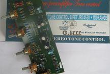 MB131 TONE CONTROL BIFET Stereo JRC4558  MIDRANGE CONTROL GB602