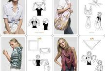 šátky - scarves
