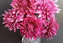 květy na drátkách