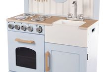 Mini keuken / Mini keukens voor kinderen. Uren lang speelplezier in je eigen keuken met keukens, pannen en service.