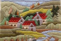 long stitch needlepoint