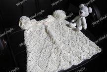 Crochet - baby dress / by Becky Hebert