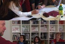 Seminare / Bilder, die in Seminaren und Workshops der aditorial academy entstanden sind sowie Fotos des Seminar- und Coachingsraums