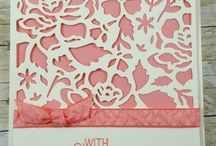 Floral bouquet pink birthday card