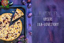 Pflaumenkuchen - { plum cake }