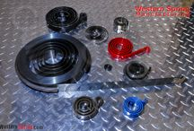 Spiral Power Springs / Spiral Power Springs produced by Western Spring Manufacturing.