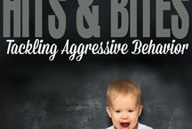 Aggressive behaviour in children / Tips on how to discourage biting, hitting etc and reasons behind why