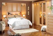 Principle bedroom storage