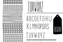 fonts / by STubox VI