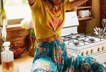 Top clothes hippie