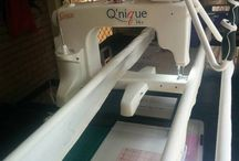 Q'nique 14+ installations / Q'nique the new mid arm quilting machine by Grace