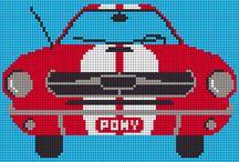 ponto Cruz muscle car