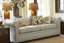 Leather Sofas / by Debbie Woodward