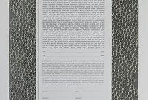 Circles Katan Ketubah / Wedding Vows / Ruth Mergi, Papercut Ketuba, Ketubah, Wedding Vows, Marriage Certificate, Quaker certificate, Contemporary, Modern, Traditional, Interfaith, Israel, Art, Artist, Judaica, Jewish Wedding, Chic, signatures, English, French, Italian, Spanish, Mazel Tov, Chuppah, Mitzvah, Wedding inspiration, Ketubah text, Sculptural