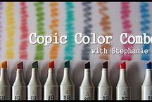 copics / by Leslie Lescalleet