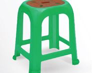 Oval double deries stools / Stools with double delight.