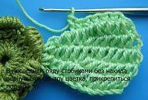crochet - FLOWER and other motifs