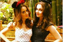 Vanessa Marano Rocks Her Disney Side / Vanessa Marano and her sister Laura rocked their Disney Side at Disneyland this weekend!  / by Switched at Birth