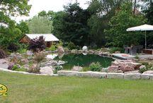 Schwimmteiche / Sie haben einen wunderschönen See vor Augen mitten in der Natur. Idyllisch, ruhig, erholsam. Das alles holen Sie sich auch in Ihren eigenen Garten.