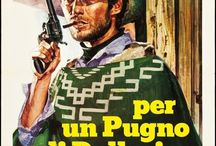 Clint Eastwood movie posters / an amazing collection of Clint Eastwood posters from all around the world including all the impossibly hard to find Italian variants from Sergio Leone's Man with No Name trilogy.