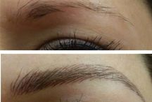 3D eyebrow embroidery