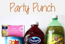 punch drinks / by Denise Schmittler Boyer