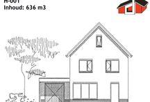 Budget Line Woningen / Bouwen voor een zeer aantrekkelijke m3-prijs. Bijvoorbeeld: Een vrijstaande semi-bungalow met garage / berging van ± 745 m3, kunnen wij voor u bouwen voor een m3-prijs vanaf € 249,-- incl. architectkosten en 21% B.T.W.