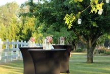 Custom Cocktail Tables / special event rentals