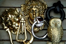 Door Knockers / Check out www.thedoorknockercompany.co.uk for a massive range of door knockers and all manner of door furniture in brass and cast iron as well as shelf brackets, hat and coat hooks, curtain accessories and garden and home wares