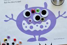 Barnehage: Spillmaler og DIY spill