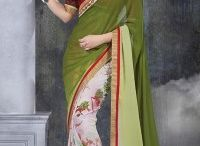 Discounted Green Sarees / Get Huge Discount on Green Sarees with huge collection and different shades styles and trends. Which suits your personality.