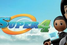 playmobil, super 4 / Children's show Super 4: Heroes United based on Playmobil toys