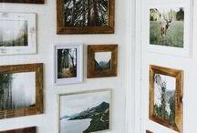 obrazy i półki
