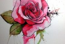 Akvarell Tetoválás