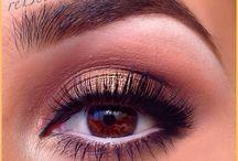 makeup oog grimering