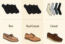 Masculino ...cuecas meias e sapatos