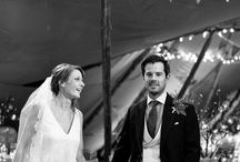 Kira & AJ's Winter Wonderland Wedding / Winter tipi wedding by World Inspired Tents, images by barkerevans.com