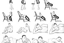 sitting/chair poses