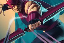 Comic Books Heroes & Villains